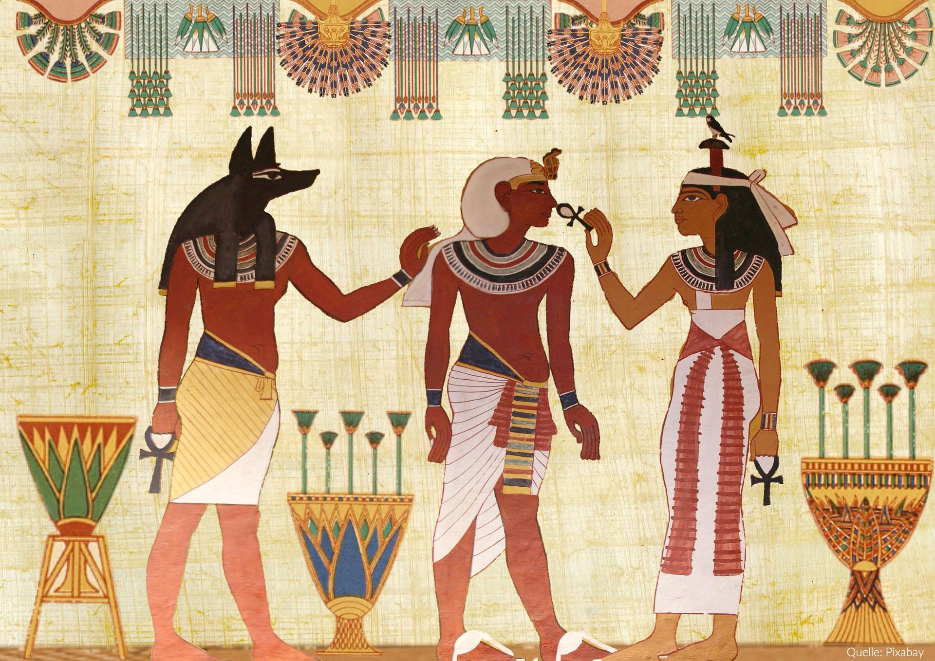 Geschichte der Unterwäsche | Das Alte Ägypten