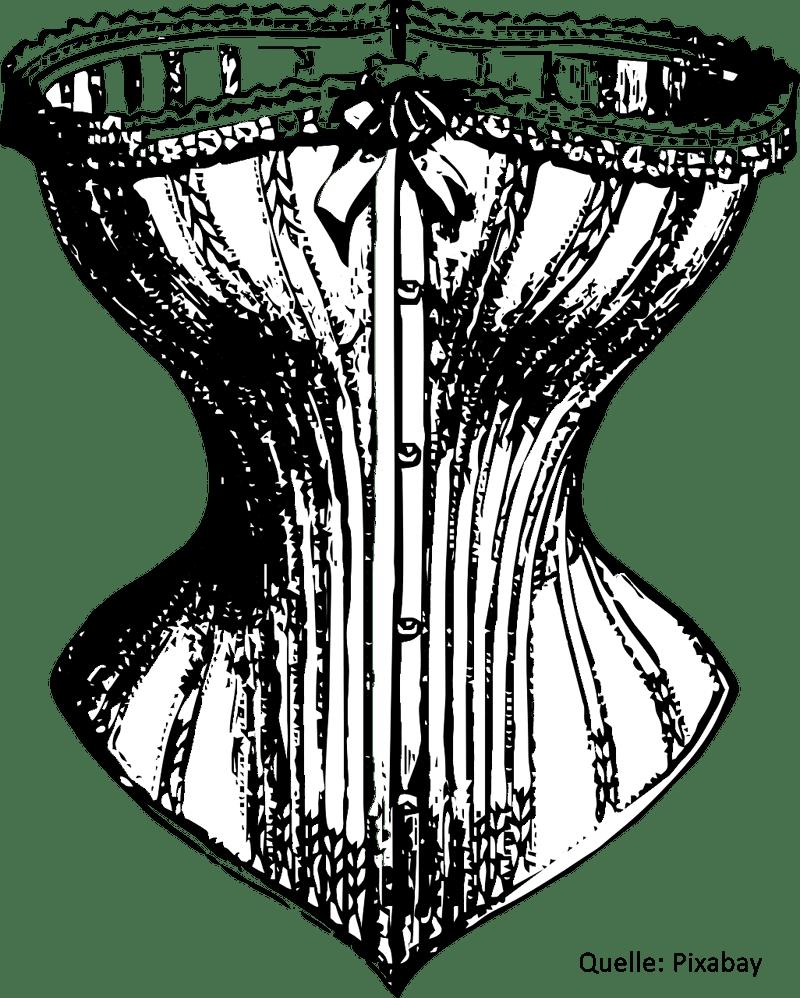 Geschichte der Unterwäsche | Schnürkorsett