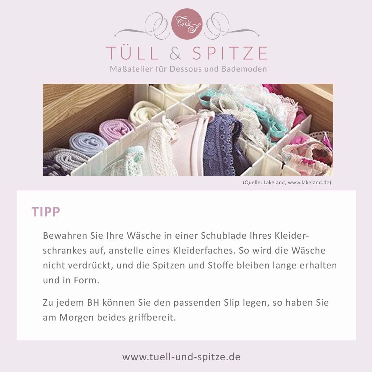Tipps Wäscheaufbewahrung