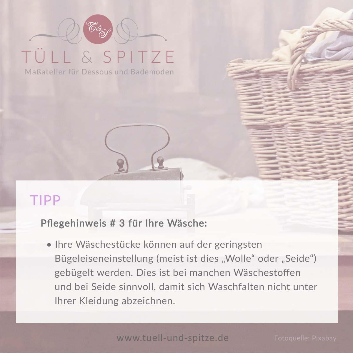 Tipps - Wäsche Bügeln