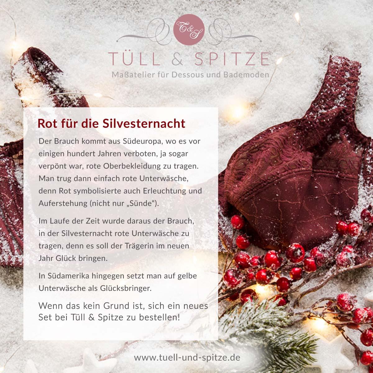 Tipps - rote Wäsche an Silvester
