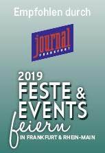 Auszeichnung 2019 | journal Frankfurt - Feste & Events feiern