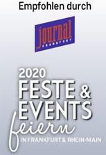 Auszeichnung 2020 | journal Frankfurt - Feste & Events feiern