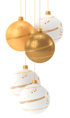 Adventskalender | Weihnachtskugeln