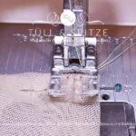 Beitragsbild | Stecknadel richtig in den Stoff einstechen