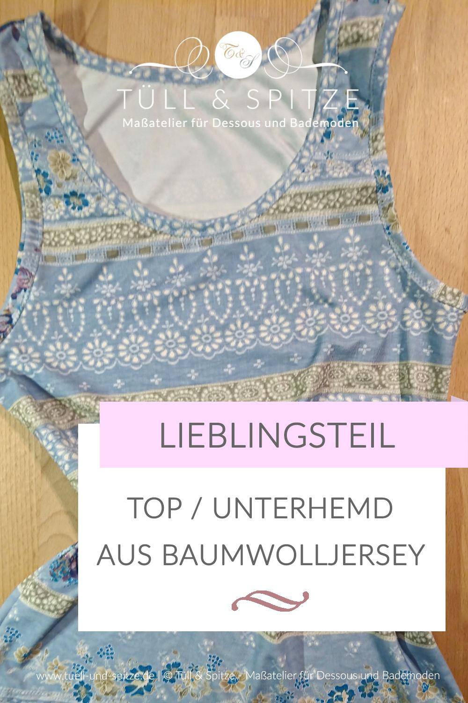 Blog | Fair Fashion: Unterhemd und Top aus Baumwolljersey