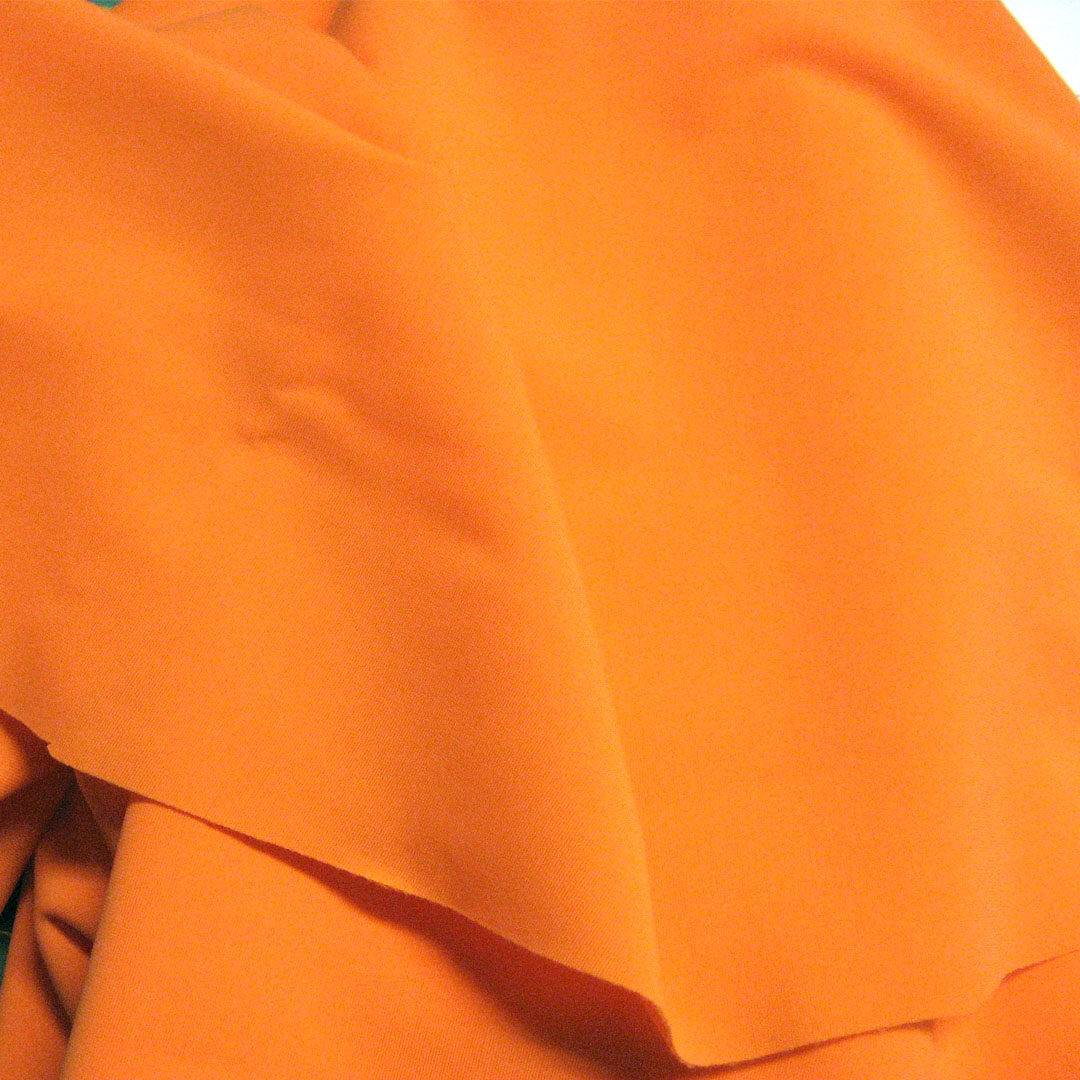 Badestoff strahlendes Orange