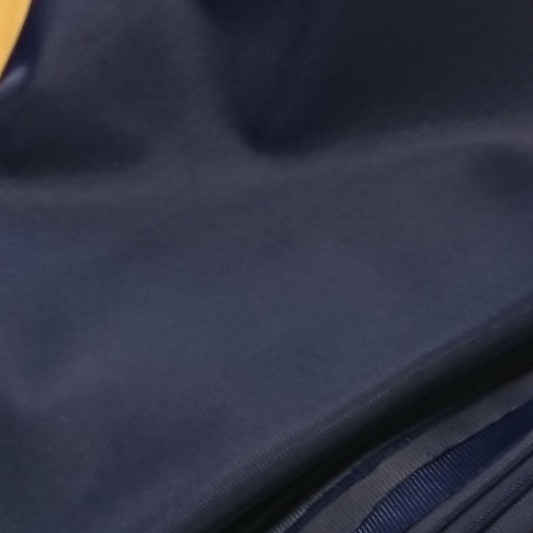 Duoplex Marineblau, schwerer Stoff