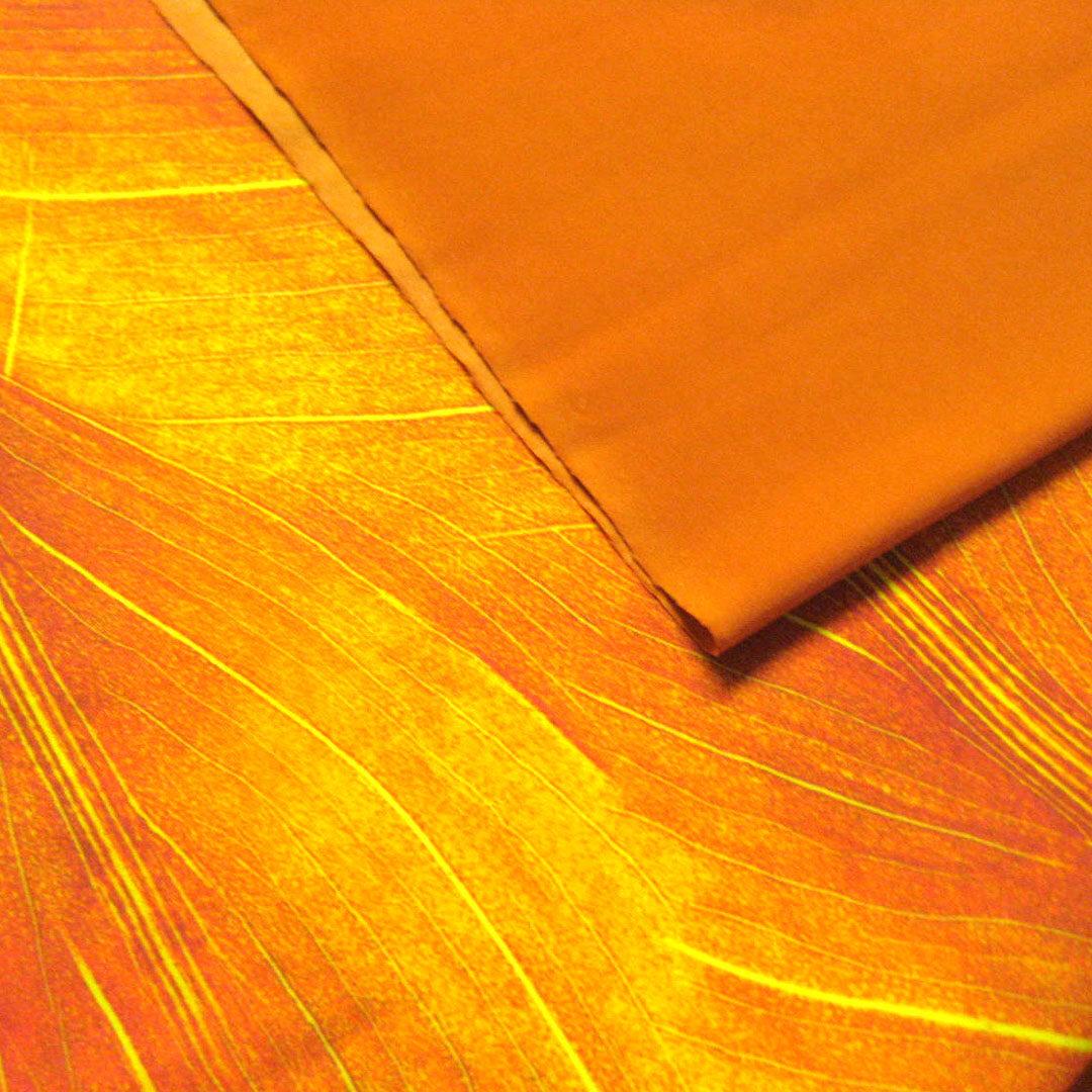 Materialpaket Badestoffe Orange uni und gemuster