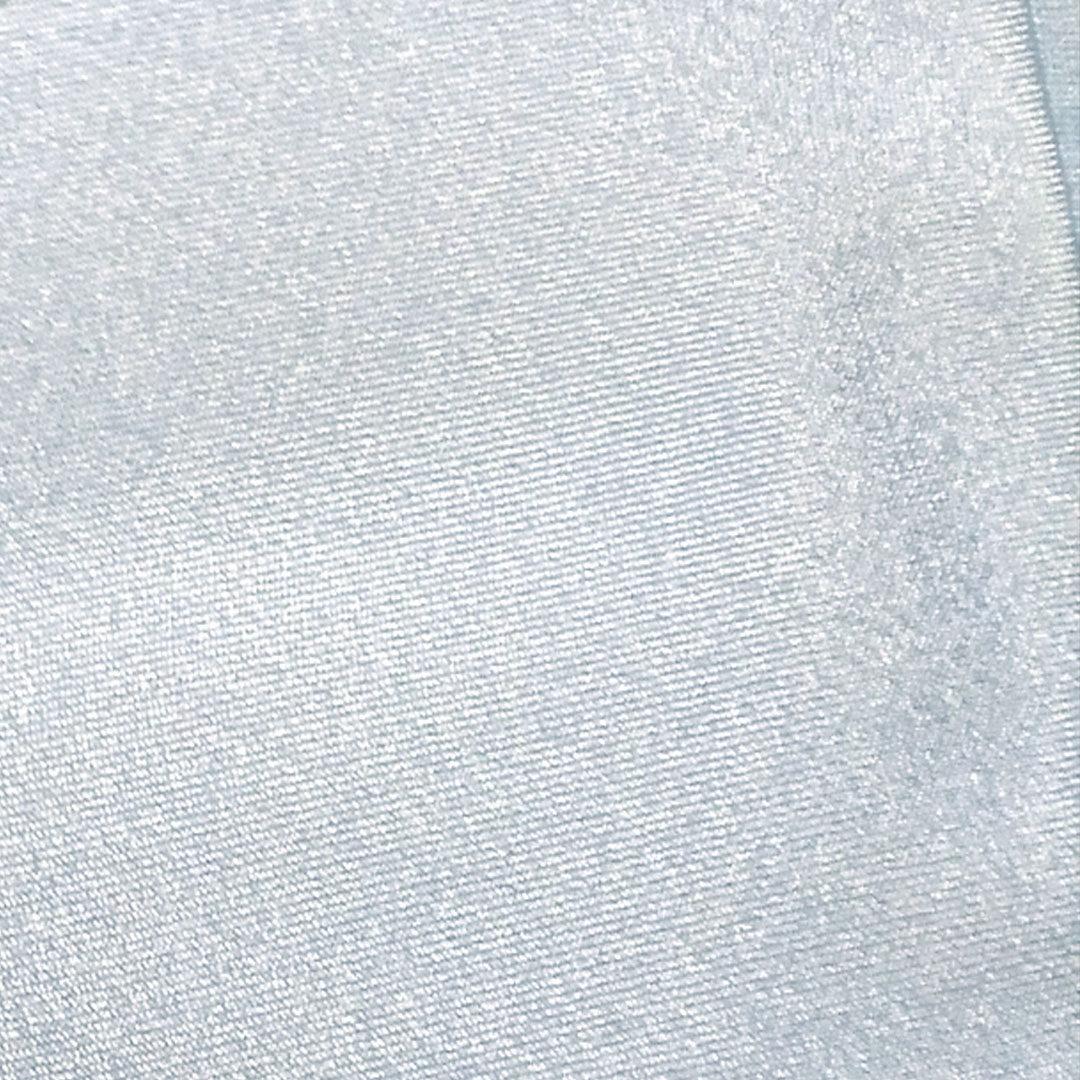 Mikrofaser Eisblau, glänzend