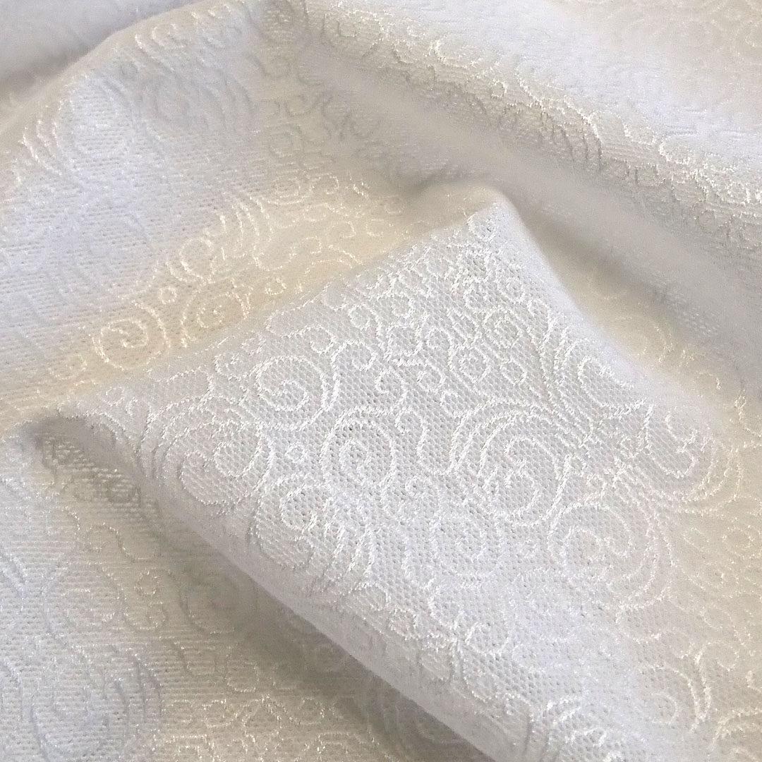 Powernet Weiß mit Ornamenten