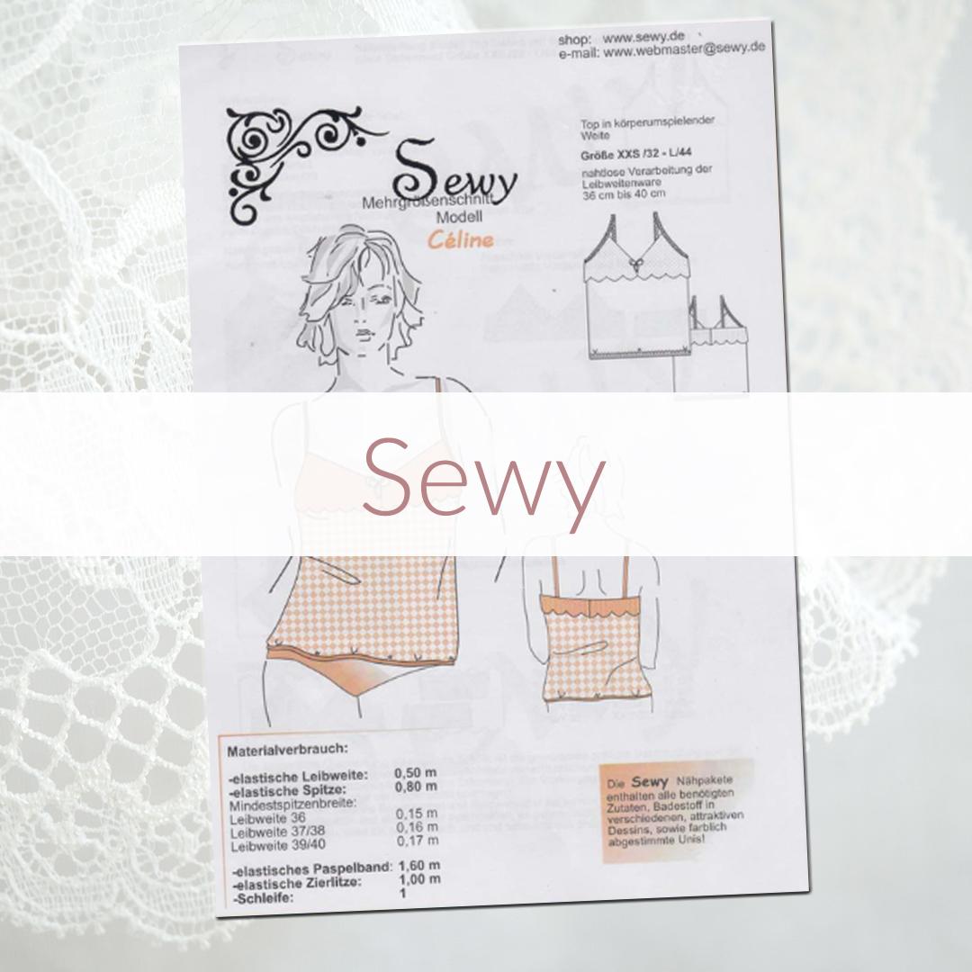 Shop | Kategorie Schnittmuster Sewy