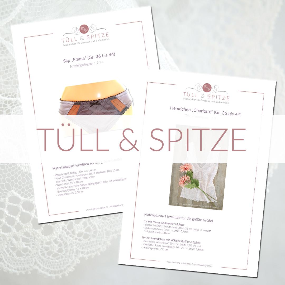 Shop | Kategorie Schnittmuster Tüll & Spitze