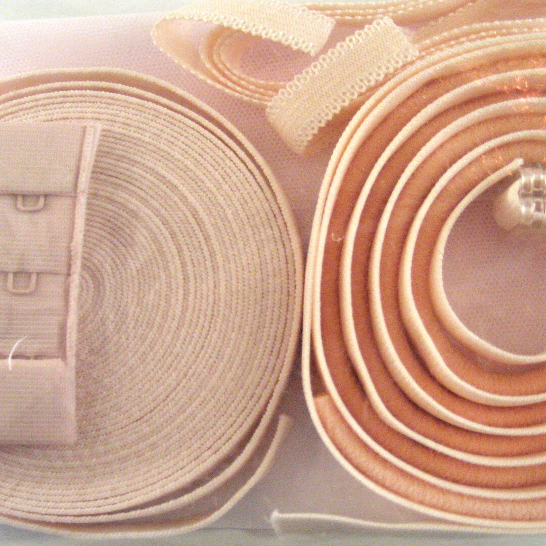 Shop | Kurzwarenpaket BH Rosa/Apricot/Gr. L, € 13,-