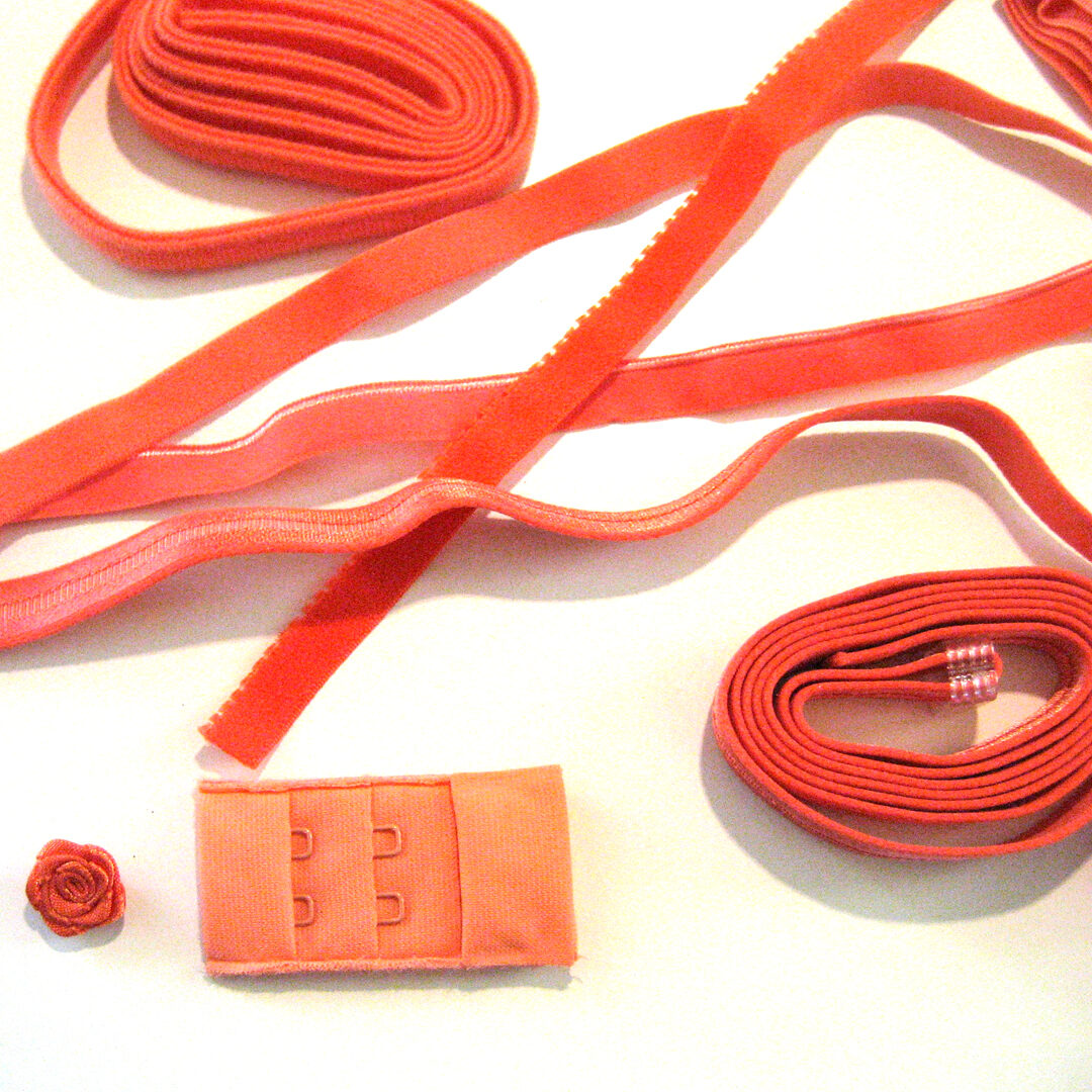 Shop | Kurzwarenpaket BH Orange/Gr. M, € 9,-