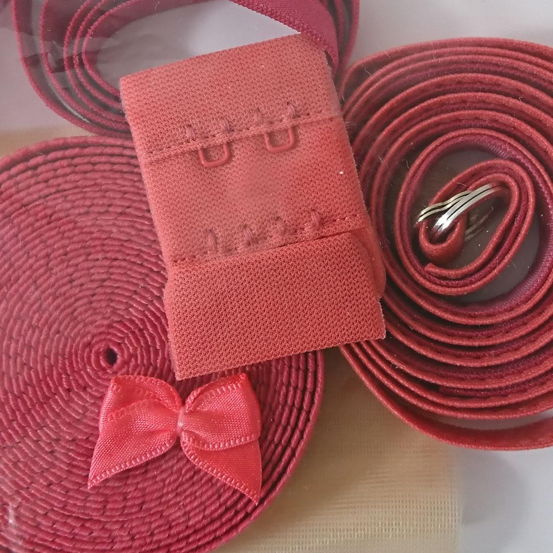 Shop | Kurzwarenpaket BH Rosarot/Gr. M, € 9,-