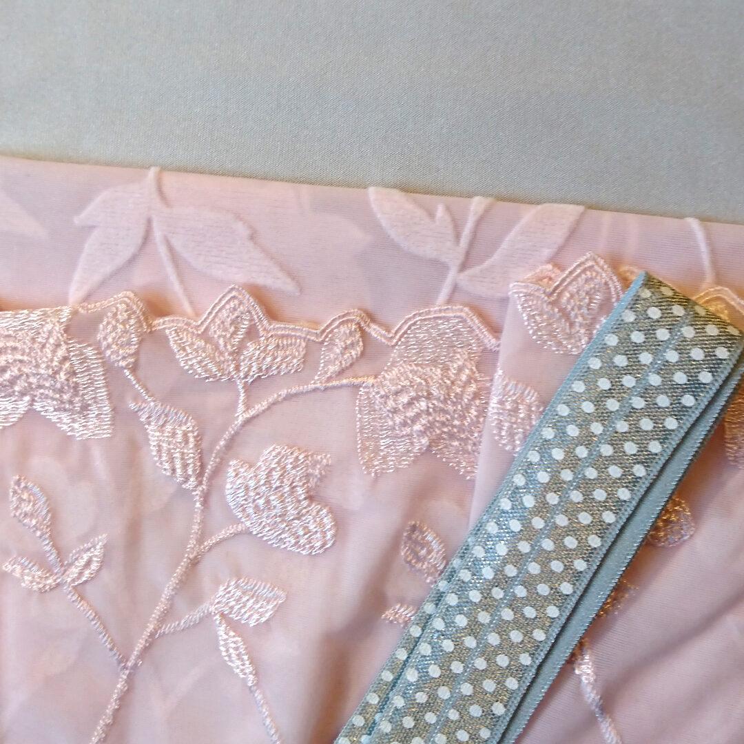 Shop | Materialpaket Dessousset, Grau/Rosa