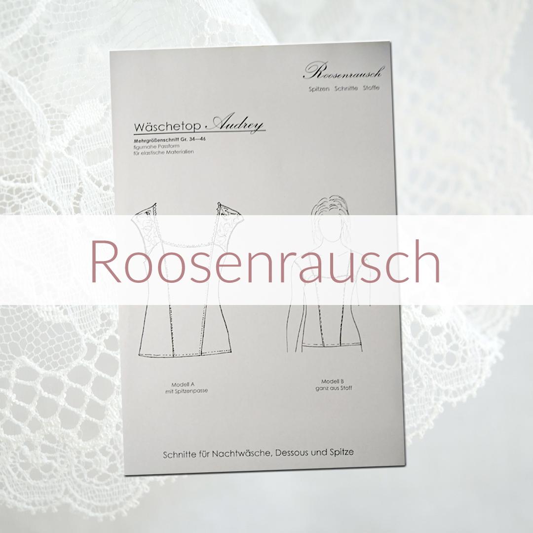 Shop | Kategorie Schnittmuster Roosenrausch