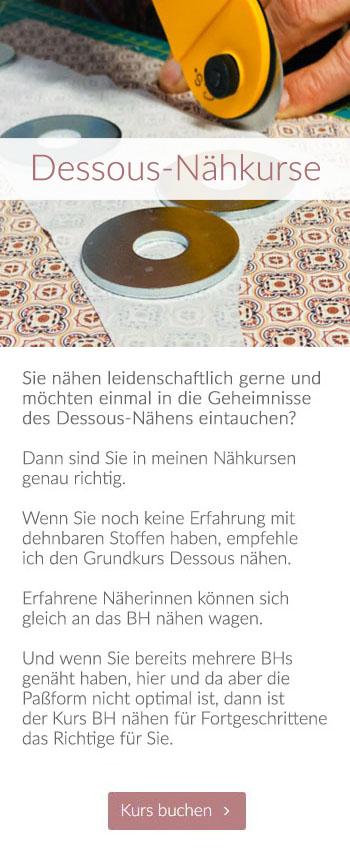 Willkommen | Dessous-Nähkurse Dessous-Maßatelier Tüll & Spitze, Wiesbaden