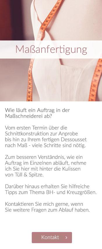 Willkommen | Maßanfertigung Dessous-Maßatelier Tüll & Spitze, Wiesbaden